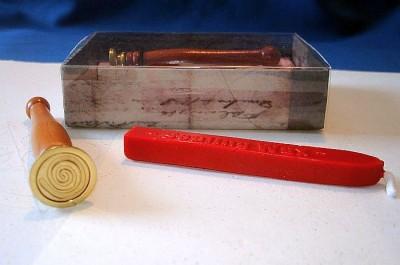 Seal Stamp Spiral