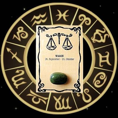 Pierre de la chance Balance Nephrit-Jade