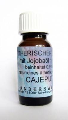 Parfum éthéré (Ätherischer Duft) huile de jojoba avec cajeput
