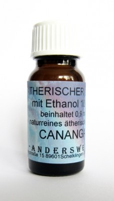 Ethereal fragrance (Ätherischer Duft) ethanol with cananga