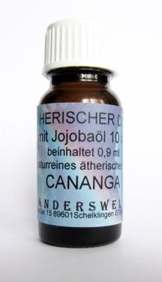 Fragranza etereo (Ätherischer Duft) olio di jojoba con cananga