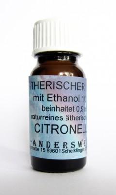 Parfum éthéré (Ätherischer Duft) éthanol avec citronelle
