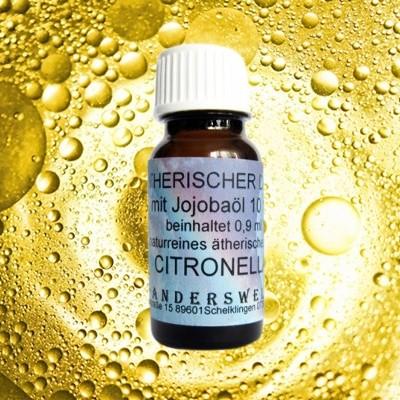 Parfum éthéré (Ätherischer Duft) huile de jojoba avec citronelle