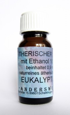 Fragranza etereo (Ätherischer Duft) etanolo con eucalipto