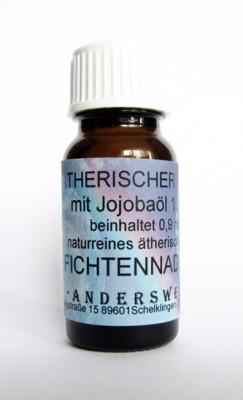 Ethereal fragrance (Ätherischer Duft) jojoba oil with spruce needles
