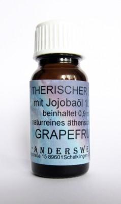 Ethereal fragrance (Ätherischer Duft) jojoba oil with grapefruit