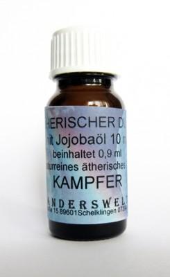 Ethereal fragrance (Ätherischer Duft) jojoba oil with camphor