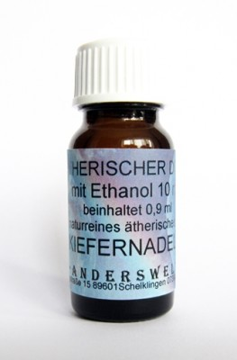 Ethereal fragrance (Ätherischer Duft) ethanol with pine needles