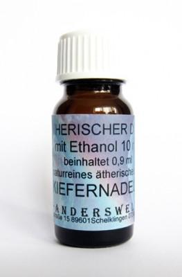 Fragranza etereo (Ätherischer Duft) etanolo con aghi di pino