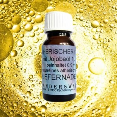 Parfum éthéré (Ätherischer Duft) huile de jojoba avec aiguilles de pin sylvestre