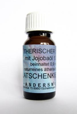 Ethereal fragrance (Ätherischer Duft) jojoba oil with mountain pine