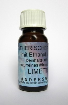 Fragranza etereo (Ätherischer Duft) etanolo con lime