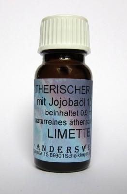 Fragranza etereo (Ätherischer Duft) olio di jojoba con lime