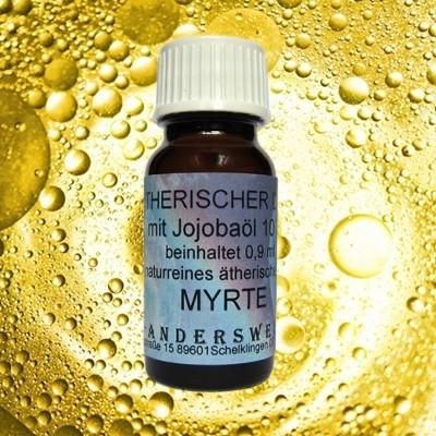 Parfum éthéré (Ätherischer Duft) huile de jojoba avec myrte