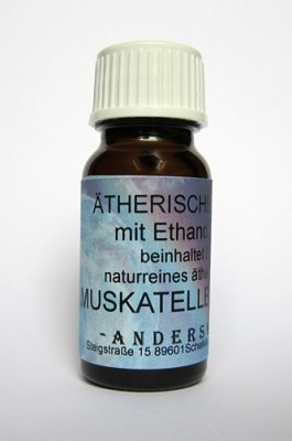 Ethereal fragrance (Ätherischer Duft) ethanol with clary sage