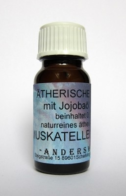 Ethereal fragrance (Ätherischer Duft) jojoba oil with clary sage