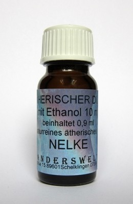 Ethereal fragrance (Ätherischer Duft) ethanol with clove