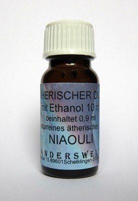 Ethereal fragrance (Ätherischer Duft) ethanol with niaouli