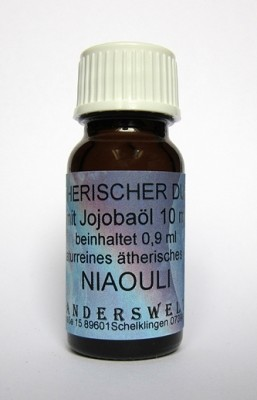 Ethereal fragrance (Ätherischer Duft) jojoba oil with niaouli
