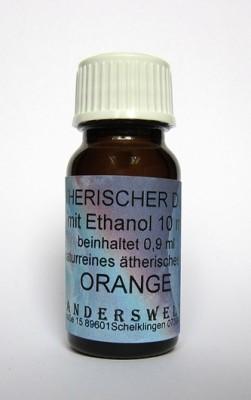 Ethereal fragrance (Ätherischer Duft) ethanol with orange