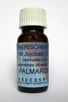 Ethereal fragrance (Ätherischer Duft) jojoba oil with palmarosa