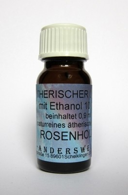 Ethereal fragrance (Ätherischer Duft) ethanol with rosewood
