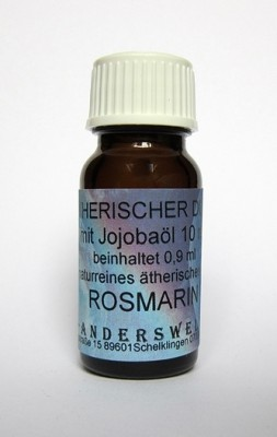 Ethereal fragrance (Ätherischer Duft) jojoba oil with rosemary