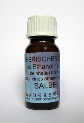 Ethereal fragrance (Ätherischer Duft) ethanol with sage