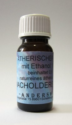 Ethereal fragrance (Ätherischer Duft) ethanol with juniper
