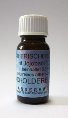 Ethereal fragrance (Ätherischer Duft) jojoba oil with juniper