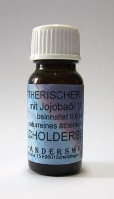 Ethereal fragrance (Ätherischer Duft) jojoba oil with juniper