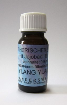 Ethereal fragrance (Ätherischer Duft) jojoba oil with Ylang-Ylang