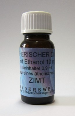 Ethereal fragrance (Ätherischer Duft) ethanol with cinnamon
