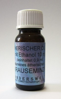Ethereal fragrance (Ätherischer Duft) ethanol with spearmint