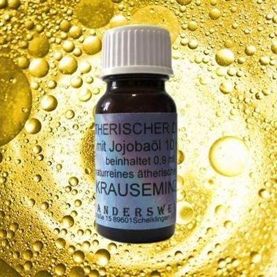Ethereal fragrance (Ätherischer Duft) jojoba oil with spearmint