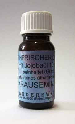Ethereal fragrance (Ätherischer Duft) jojoba oil with spearmint