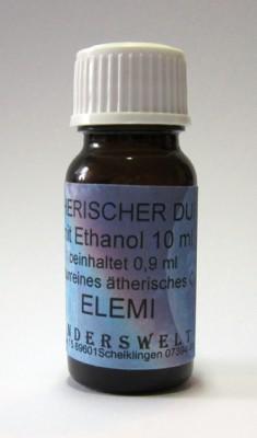 Fragranza etereo (Ätherischer Duft) etanolo con elemi