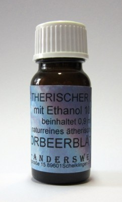 Ethereal fragrance (Ätherischer Duft) ethanol with laurel leaves