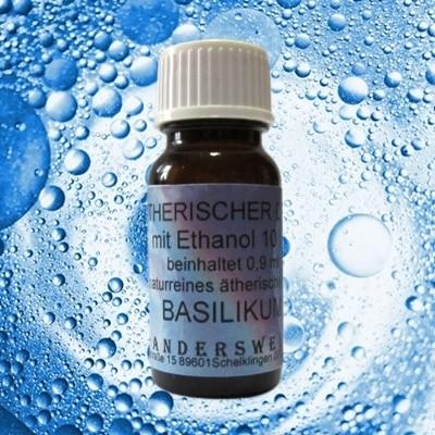 Parfum éthéré (Ätherischer Duft) éthanol avec basilic