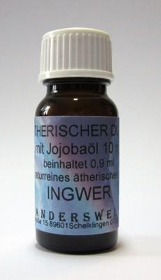Ethereal fragrance (Ätherischer Duft) jojoba oil with ginger