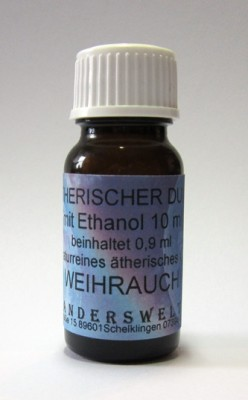 Fragranza etereo (Ätherischer Duft) etanolo con incenso