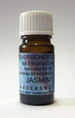 Ethereal fragrance (Ätherischer Duft) jojoba oil with jasmine absolue