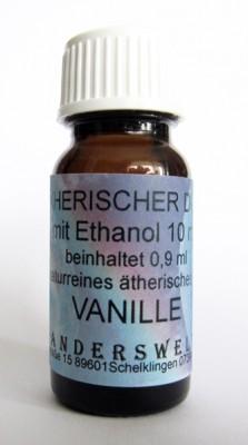 Parfum éthéré (Ätherischer Duft) éthanol avec vanille