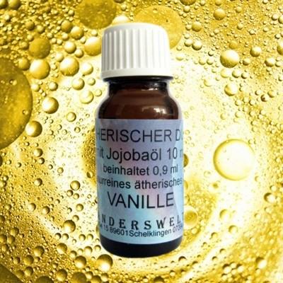 Ethereal fragrance (Ätherischer Duft) jojoba oil with vanilla
