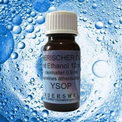 Fragranza etereo (Ätherischer Duft) etanolo con Issopo