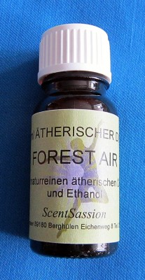 Profumo auto con oli naturali Forest Air 10ml