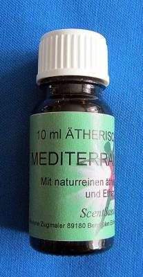 Parfum de voiture avec des huiles naturelles Mediterran Herbs 10ml