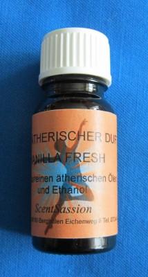 Parfum de voiture avec des huiles naturelles Vanilla Fresh 10ml