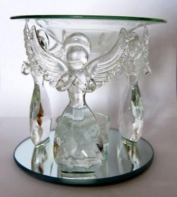 Diffuseur d´huiles essentielles Ange en verre
