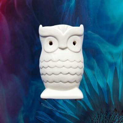 Fragrance lamp Owl beige